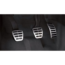 Original Audi TT 8N Golf 4 Alu Pedalset Pedalkappen Edelstahl Schalter