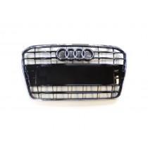 Original Audi A5 8T Kühlergrill Frontgrill schwarz glänzend
