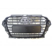 Original Audi A3 8V Limousine Kühlergrill Grill Frontgrill schwarz matt glänzend