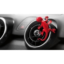 Original Audi Duftspender Duftgecko rot für Luftausströmer