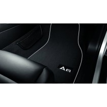 Original Audi A6 4G Premium Stoffmatten Textilfußmatten Velours vorne + hinten