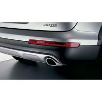 Original Audi Q7 4L Sport Endrohrblenden Chrom