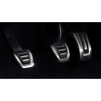 Original Audi TT 8S Edelstahl Pedal Kappen Pedalkappenset Pedalkappen