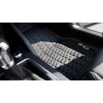 Original Audi Q2 Gummifußmatten Gummimatten vorne schwarz