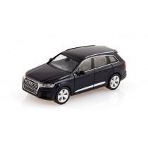 Audi Q7 Modellauto 1:87 Modell 2015 Tintenblau