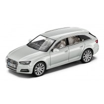 Audi A4 8W Avant Modellauto 1:43 Modell 2015 Gletscherweiß