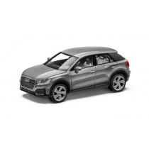 Audi Q2 Modellauto 1:87 Herpa Florettsilber