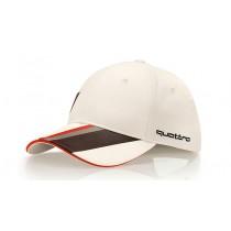 Audi Heritage Cap Baseballcap Kappe Mütze Unisex offwhite