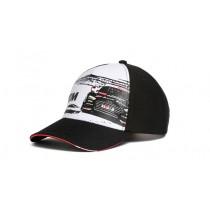 Audi Unisex DTM Cap Kappe Baseballcap Mütze RS5 schwarz weiß