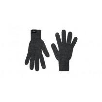 Audi Strickhandschuhe Handschuhe Winterhandschuhe Unisex grau Touchscreenfähig