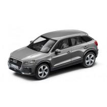Audi Q2 Modellauto 1:43 Quatumgrau