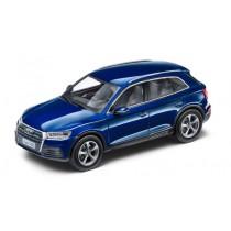 Audi Q5 Modellauto 1:43 Navarrablau