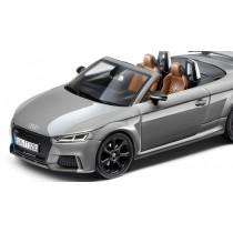 Audi TT RS 8S Roadster Modellauto 1:43 Nardograu iScale