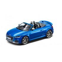 Audi TT RS 8S Roadster Modellauto 1:43 Arablau