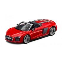 Audi R8 V10 Spyder Modellauto 1:18 Modell 2016 Dynamitrot