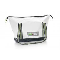 Skoda Shopperbag Schultertasche Umhängetasche RS weiß / grau
