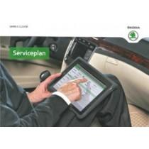 Skoda Ersatz Serviceplan Serviceheft Scheckheft Wartung deutsch