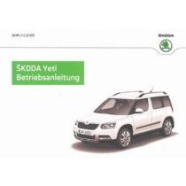 Skoda Yeti 5L Facelift ab Baujahr 11/13 Betriebsanleitung Bordbuch