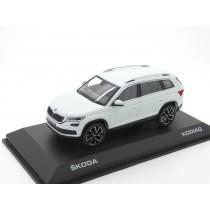 Skoda Kodiaq Modellauto Miniatur 1:43 grau MVF37-801