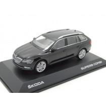 Skoda Superb Kombi III Modellauto Miniatur 1:43 schwarz MVF65-801