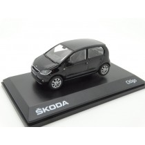 Skoda Citigo 1S 5-Türer Modellauto Miniatur 1:43 Deep-Schwarz MVF25-801