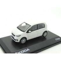 Skoda Citigo 1S 5-Türer Modellauto Miniatur 1:43 Candy-Weiß MVF25-807