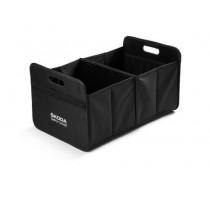 Skoda Faltbox Einkaufskorb Kofferraumbox Gepäckkorb schwarz