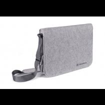 Skoda Messengerbag Schultertasche Tasche Umhängetasche Filz grau MVF07-130