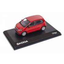 Skoda Citigo 1S 5-Türer Modellauto Miniatur 1:43 Tornado-Rot