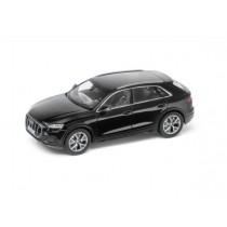 Audi Q8 Modellauto Miniatur 1:43 Orcaschwarz Schwarz