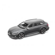 Audi RS 6 RS6 Avant Modellauto Miniatur 1:43 Daytonagrau grau Matt - 5012016231