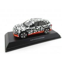 Audi e-tron Prototype Modellauto Miniatur 1:43 schwarz / weiß - 5011820633