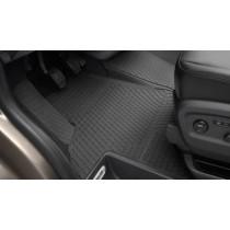Original VW T5 Transporter Gummimatte Gummifußmatte Fahrerseite vorn schwarz