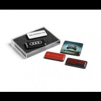 Audi Sport quattro Magnetset Magnete Kühlschrankmagnete Fünfteilig 3291900400