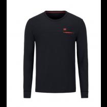 Audi e-tron Herren Langarmshirt Shirt Langarm Dunkelgrau Gr. S M L XL XXL