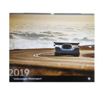 Volkswagen VW Motorsport Kalender Calendar Wandkalender 2019 - 60 x 48 cm