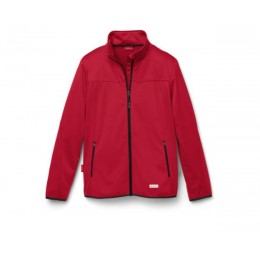 Audi Sport Softshelljacke Jacke Herren rot