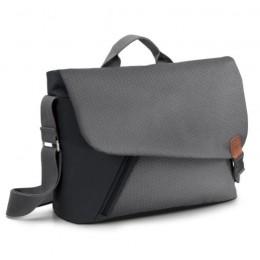 Audi Messenger Bag Tasche Umhängetasche Smart Urban schwarz/grau