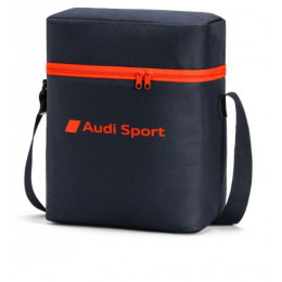 Audi Sport Kühltasche Thermotasche Isotasche Kühlbox dunkelgrau/rot 3292000300