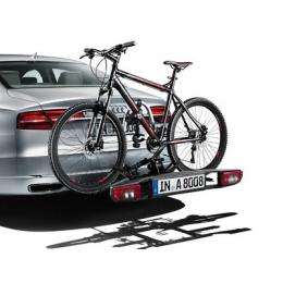 Original Audi Fahrradträger Heckträger für Anhängekupplung, klappbar