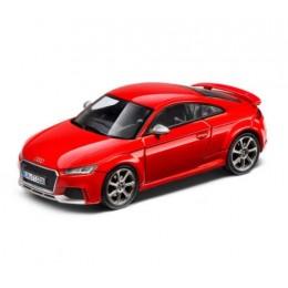 Audi TT RS Coupé 1:43 Modellauto Miniatur iScala Catalunyarot Rot 5011610431