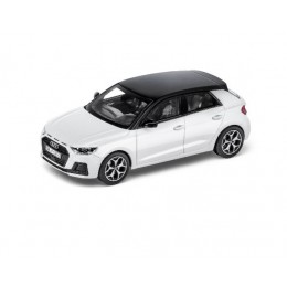 Audi A1 Sportback 1:43 Modellauto Miniatur Gletscherweiß Weiß
