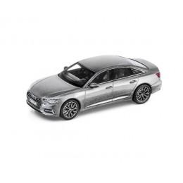 Audi A6 4K Limousine 1:43 Modellauto Miniatur Taifungrau Grau