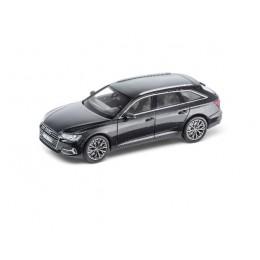 Audi A6 4K Avant 1:43 Modellauto Miniatur Vesuvgrau Grau