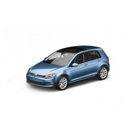 VW Golf VII 7 Modellauto 4-Türer 1:87 Pacific Blue Blau Metallic