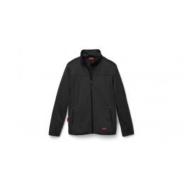 Audi Sport Herren Softshelljacke schwarz