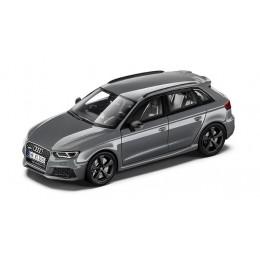 Audi RS3 Sportback Modellauto 1:43 Nardograu