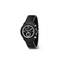 Audi Chronograph Armbanduhr Uhr Blackline schwarz