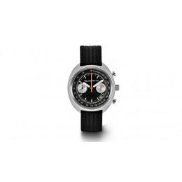 Audi Heritage Uhr Chronograph quattro Quarzuhrwerk schwarz