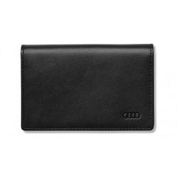 Audi Visitenkartenhalter Kartenhalter Etui Leder schwarz